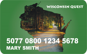 Wisconsin Quest card