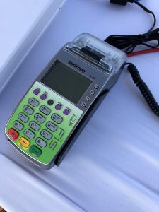 Card reader to process electronic benefits transfers